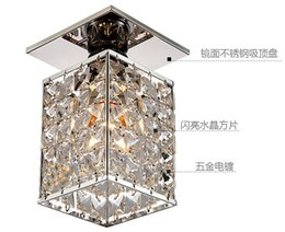 2016 Real Luminaire Pendant Lights New Arrival ! Modern Square Led Crystal Chandelier , Warm White  White,guaranteed100% Power Home Lamps