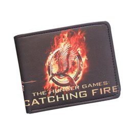 THE HUNGER GAMES Mockingbird Wallet Bifold 2 Fold Short Leather Wallet Student Money Bag Bow & Arrow Purse ID Card Holder Wallet Handy Bag