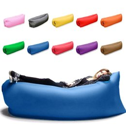 Wholesale Air Inflatable Pool air inflatable mattress lazy bag Toy laybag pool air mattress water Float Raft floating mattress