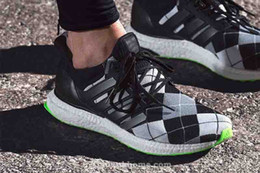 Wholesale 2016 High Fashion Sneakers For Mens Running Shoes Ultra Boost x Kris Van Assche grid EUR40