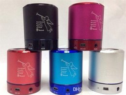 T2020A Alloy Mini Bluetooth Speaker with Led Light Super Bass Sound Support TF Card USB Disk FM Handsfree