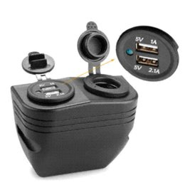 Dual USB Car Auto Cigarette Lighter Socket Charger Power Adapter Outlet socket 939 dual core processor