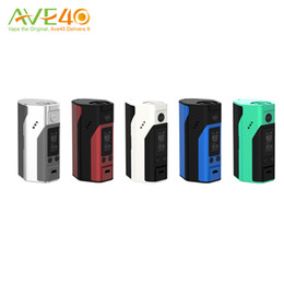 Wholesale Wismec Reuleaux RX200s New Colors UPdate RX200 Box Mod w TC spring loaded thread VW Mode Original
