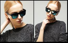 Wholesale Color film retro fashion sunglasses sunglasses big box ms sun eye frog mirror Sunglasses Polarized Sunglass