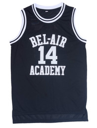 Wholesale Fresh Prince of BEL AIR Jersey Will Smith Jersey Carlton Banks Stitched Maroon Letters