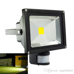 10W 20W Super Bright PIR Motion Sensor Flood Light Outdoor LED Flood Lights PIR Floodlight Basement Light