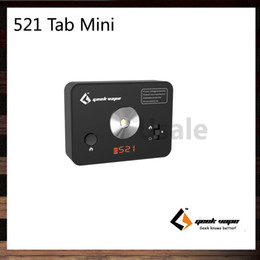 Wholesale Geekvape Tab Mini Coil Master Compact size Added Battery Level Indicator USB Port Charging Dry Burn DIY Coils Original
