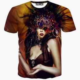 tshirt Europe America fashion tshirt 3d print sexy lady animation casual t-shirt men boy tops tees shirt clothing fashion
