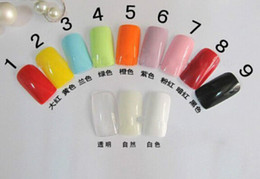 Wholesale Faux Ongles Full Cover False Nails Artificial Design Tips Decorated Fake Nails