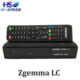 Wholesale 10pc Zgemma star LC P Linux OS bcm7581 DVB C Advanced EPG With IPTV streaming receiver CPU MHz MIPS Processor plug in PVR set top box