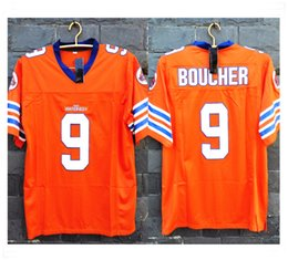Wholesale Stitched Movie the WATERBOY Adam Sandler Bobby Boucher Mud Dogs Football Jerseys Sport fashion hot sale cheap Jersey with Brand