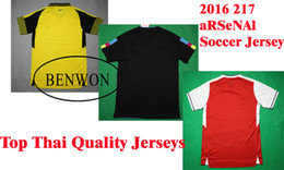 Wholesale Benwon hot club soccer jerseys OZIL WILSHERE ALEXIS GIBBS WALCOTT CHAMBERS men s short sleeve football shirts adult s sports jersey