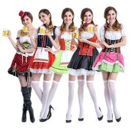 European and American RPG game uniforms maid outfit maid clothing raw clothing waiter beer