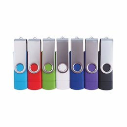 Wholesale 16 GB double slider dual multifunctional wireless phone usb flash drive computer OTG pendrive flash pen drive usb stick