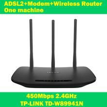 Wholesale TP LINK TD W89941N Mbps ADSL modem wifi extender wireless router one machine antenna for home computer networking IPTV