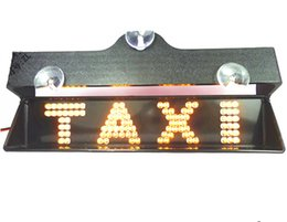 Wholesale Taxi TAXI lamp lights signs warning lights brake light strip signs