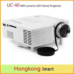 Wholesale Free UC Home Mini LED Projector Support AV SD VGA HDMI High Definition Lumens Projectors