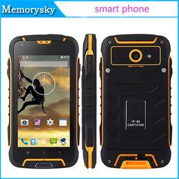 8gb tactile en Ligne-originale SUPPU F6 MTK6582 Quad Core Waterproof Smartphone Android 4.5 pouces QHD tactile 1Go RAM / 8GB Cell ROM téléphone
