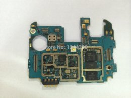 Wholesale For Samsung Galaxy S4 I9500 G Unlocked Motherboard Logic Board Mainboard with chips mainboard mainboard for intel processor