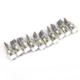 Wholesale DHL Free T10 W5W SMD Car Auto LED HID Canbus Error FREE Car Side Wedge Light Parking Fog Light