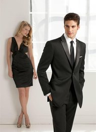Customized One Button Wedding Suits for Men 5 Pieces( Coat+Trousers+Tie) High Quality Groom Tuxedos Mens Bridegroom Suits