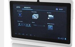 2017 tablettes quad core 7 pouces quad core android tablette pc Q88 pro Allwinner A33 android 4.4 8GB caméra WIFI OTG écran capacitif tablettes quad core sortie