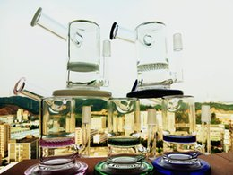 Wholesale 2016 hbkingbong420 upgraded Mobiu Matrix sidecar oil rig glass bongs water pipes birdcage perc quot inches glass smoking pipes ash catcher mm