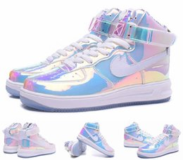 online shopping 2016 New Running Shoes For Men Air Force One Dunk Force Men Casual Shoes Force Ones Bowl Mirror High Cut Walking Sneakers