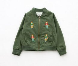 Wholesale 2016 autumn and winter clothes new children s clothing coat Zipper shirt Baseball dress Male and female children s coats