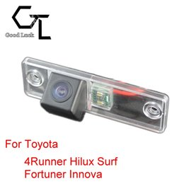 For Toyota 4Runner Hilux Surf Fortuner Innova 2005~2012 Wireless Car Auto Reverse Backup CCD HD Night Vision Rear View Camera
