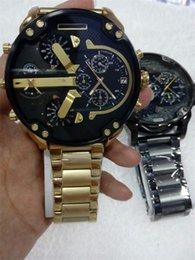 Wholesale DZ watch Mr Daddy Black Dial Quartz Men s Watch Item No DZ73333 large watch