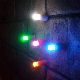 Wholesale New LED push pin light one touch light mini night light Sucker Store Bar light set With Retail Package Christmas Hollowen Party Supply