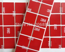 Wholesale M original P Auto double sided adhesive acrylic foam tape mm mm square black tape a