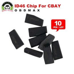 Wholesale 100 Original ID46 Chip for CBAY Hand held Car Key Copy Auto Key Programmer ID Chip ID46 Transponder Chip