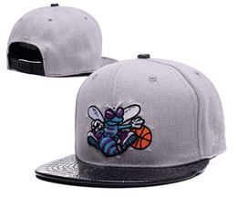 Wholesale Charlotte Adjustable Hornets price Snapback Hat Thousands Snap Back Hat Basketball Cheap Hat Adjustable men women Baseball Cap