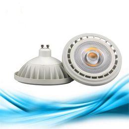 Dimmable 10W 15W GU10 G53 COB AR111 LED Light, LED COB Spotlight QR111 ES111 LED Bulb Lamp Indoor Lighting AC110-240V DC12V