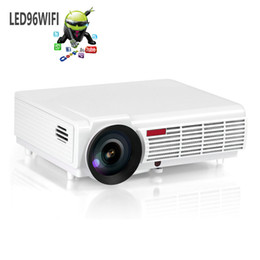 Wholesale 3000 Lumens Full HD led D Projector Home Theater cinema data show Support p android Wifi system bluetooth Beamer