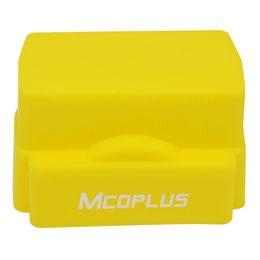 Meike flash de la cámara en Línea-Cámara Mcoplus amarillo silicona difusor de flash para Canon Nikon Meike Yongnuo Speedlite SB910 SB900 SB600 SB400 580EX II 430EXII