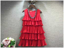 Summer New 2016 Baby Girl Princess Dress Children Sleeveless Cake Dresses Kids Clothing Fashion Girls Tutu Skirt Korean Style Child Dress