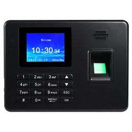 Wholesale Free Software Simple Operating Intelligence Biometric Record Fingerprint Attendance Machine F6144A
