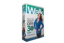 Wholesale Fitness Workout Jessica Smith Walk On Walk the Weight Off Day Plan Disc MIQ DHL