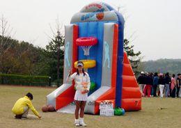 Wholesale 2016 inflatable sports game inflatable backboard inflatable basketball hoops