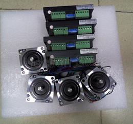 Wholesale 8 pcs a lot 4 Axis CNC control system include 4 pcs stepper motor NEMA 23 (312OZ=2.2NM) +4 pcs stepper driver M542-DSP