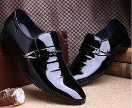 2018 New Mens Shoes Genuine Leather Office Shoes For Men High Quality Mens Dress Italian Leather Shoes Formal size:EU38-44