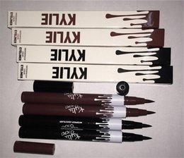Wholesale BEST Kylie Liquid Eyeliner Waterproof Black and brown Color Kylie Pencil Eyeliner Makeup tool by Kylie Jenner Cosmetics from myeshop