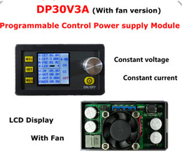 DP30V3A Constant Voltage and current Step-down Programmable Power Supply Voltage converter LCD display voltmeter with fan