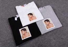 Wholesale 2016 Hip Hop Box Logo High Quality pyrex Ali Haj Boxer King Summer Fashion Tshirt Top Sports Sport Cotton T Shirt Slim Fit Casual Tee