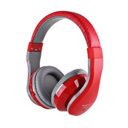 Wholesale STN Wireless Bluetooth Stereo Headphone Headset Bass with Mic FM MP3 EQ Support TF Card for iPhone iPad PC Samsung
