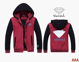 9755 s-5xl men Diamond Supply zipper hoodie come to Mixed colors sweatshirts hoodies with zipper jackets astronauts