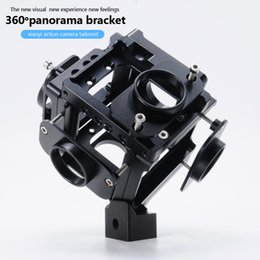 Wholesale Best Selling Products Cnc Aluminium Degree Spherical Panorama Holder Bracket mount for Support Xiaomi Yi Sport Cameras
